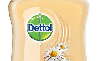 DETTOL Tekuté antibakteriální mýdlo zjemňující 250 ml