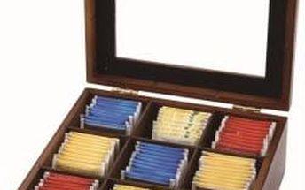 Krabička na čaj 23X23X9 cm RENBERG RB-4425