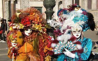 Karneval v Benátkách – jednodenní výlet, Benátky, Itálie, autobusem, bez stravy