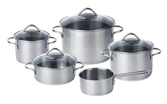 Sada nádobí nerez 5 ks WIENNA FISSLER FS-8211505002