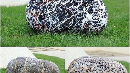 3D polštář v podobě kamenu - 3 varianty - poštovné zdarma