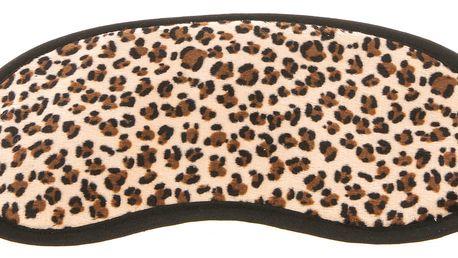 Maska na spaní leopard