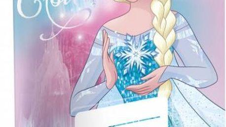 Školní sešit - Ledové království - Elsa - č. 520 - 5 kusů - dodání do 2 dnů