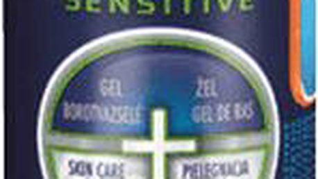 GILLETTE Fusion ProGlide Sensitive Active Sport 170 ml - gel na holení