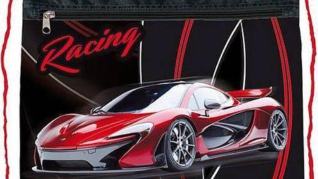 Sáček na přezůvky Stil Racing černý/červený + Doprava zdarma
