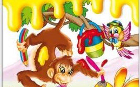 Velká kniha omalovánek pro děti - dodání do 2 dnů