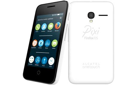 ALCATEL ONETOUCH 4022D PIXI 3 FF (3.5) (4022D-2BALCZ1) bílý + dárek SIM s kreditem T-mobile 200Kč Twist Online Internet (zdarma)