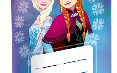 Notýsek - Ledové království - Elsa a Anna - č. 624 - 1 kus - dodání do 2 dnů