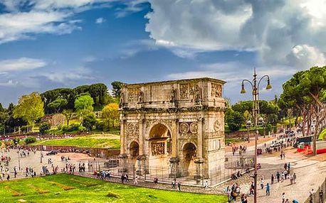5denní poznávací zájezd do Říma s koupáním