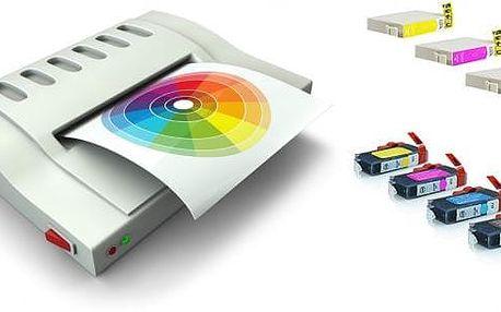 Kompatibilní sada náplní pro použití v tiskárnách Canon nebo Epson.Jasné barvy, kvalitní inkoust a speciální čip uvnitř každého balení pro bezproblémový chod Vaší tiskárny.