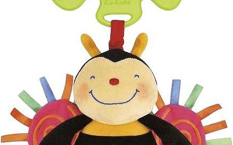 K´S KIDS Hračka na kočárek – natahovací bzučící včelka v displeji