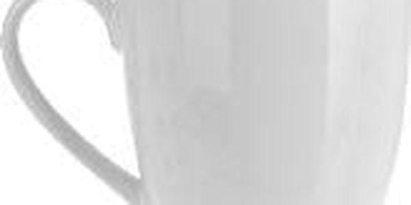 Hrnek velký 450 ml, porcelán, bílá ProGarden KO-628110020