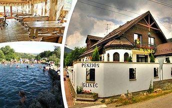 Dovolená na Slovensku - relaxační pobyt pro 2 osoby na 3, 4 nebo 6 dní v Penzionu Glinec, lázně Vyšné Ružbachy. Volně přístupné léčivé prameny, vstup do termálního jezera a úchvatné Vysoké Tatry. Sleva na wellness a bonusové noci!