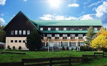 3 až 6denní pobyt pro 2 s polopenzí a vířivkou v hotelu Paramon v Jeseníkách