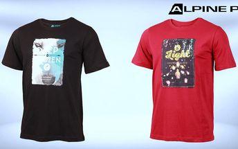 Pohodlná pánská trička Alpine Pro