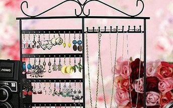 Kovový stojánek na šperky - 3 barvy