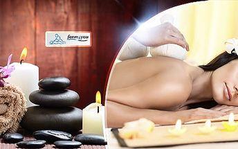 60min. masáž dle výběru: havajská, zdravotní, klasická, relaxační i lávové kameny