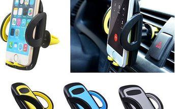 Stojánek na mobilní telefon na autoventilace - barvy - poštovné zdarma
