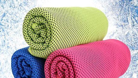 Rychleschnoucí chladící ručník - 30 x 100 cm