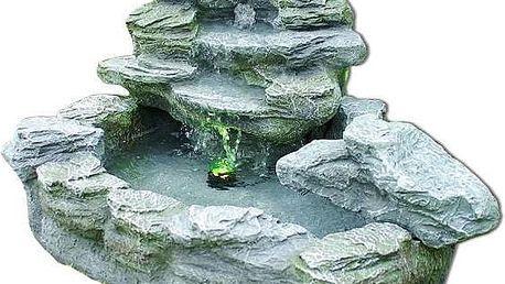 Zahradní kašna - fontána s tajemným světlem