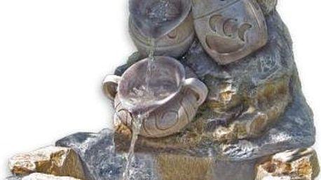 Zahradní kašna - fontána džbánky 70 x 83 x 75 cm