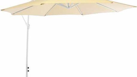 Slunečník Gardenay boční - béžový, 3 m