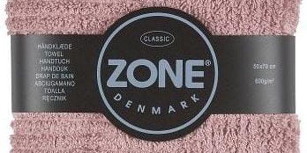 Ručník Zone, 70x50 cm, růžový