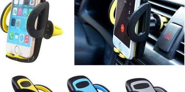 Stojánek na mobilní telefon na autoventilace - barvy
