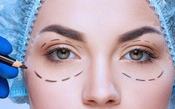Operace očních víček v centru Medinel