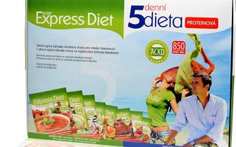Good Nature Express Diet 5denní dieta proteinová (20 x 55 g)