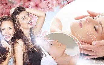 Kosmetické ošetření pro 1 osobu nebo ošetření 1+1 pro 2 osoby či relaxace pro 2 osoby