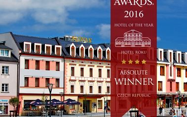 Jeseníky pro DVA v luxusním Hotelu Slovan**** se spoustou prestižních ocenění