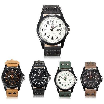 Pánské hodinky s mohutným páskem - 5 barev