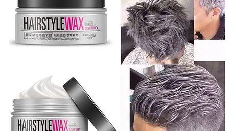 Pánský stříbrný vosk na vlasy