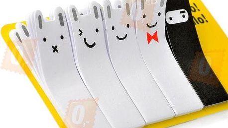 Poznámkové bločky s veselými motivy - 100 listů - dodání do 2 dnů