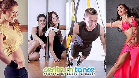 Dance & fitness permanentky v Praze nebo Brně na 2 lekce dle výběru za cenu jedné