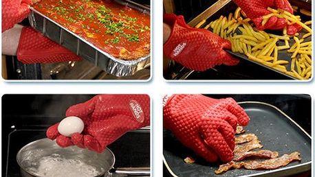 Silikonové kuchyňské rukavice Hot Hands