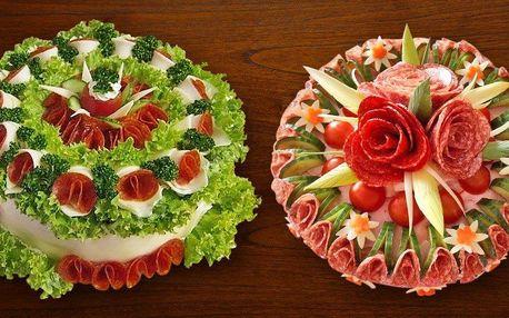 Výborné slané dorty se šunkou a zeleninou
