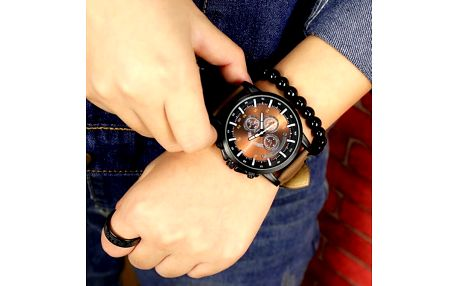 Analogové pánské hodinky v různých barvách