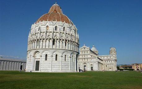 Itálie - Toskánsko na 6 dní, polopenze s dopravou autokarem