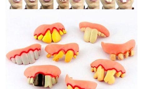 Doplněk na maškarní - zkažené zuby