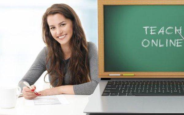 Půlroční nebo roční online kurz cizího jazyka včetně certifikátu.Angličtina, němčina nebo francouzština nebo kurz obchodní angličtiny.Zvládněte všechny jazykové dovednosti: slovní zásobu, poslech, psaní, gramatiku, dokonce i výslovnost - vše v pohodlí V