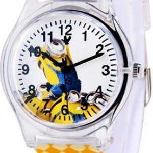 Dětské hodinky s oblíbenou žlutou postavičkou