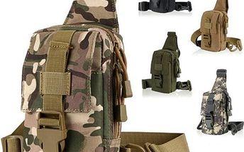Taktická armádní brašna přes rameno - 5 variant