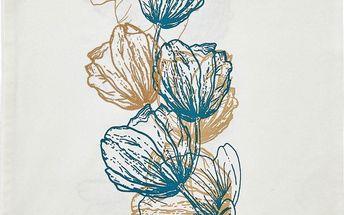 Běhoun Papaver 45x150 cm, světlý