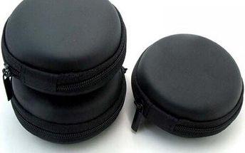 Cestovní pouzdro na sluchátka - černá - skladovka - poštovné zdarma