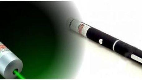 Zelené laserové ukazovátko
