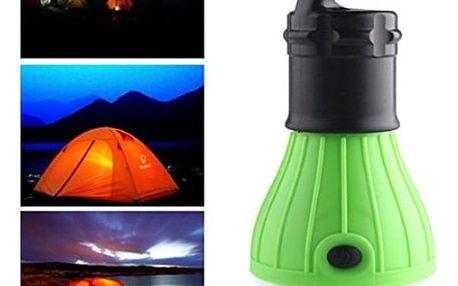 Outdoorová LED žárovka na kempování