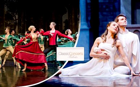 Balet Romeo a Julie v Divadle Hybernia - exkluzivní místa v přízemí hlediště (sekce A)