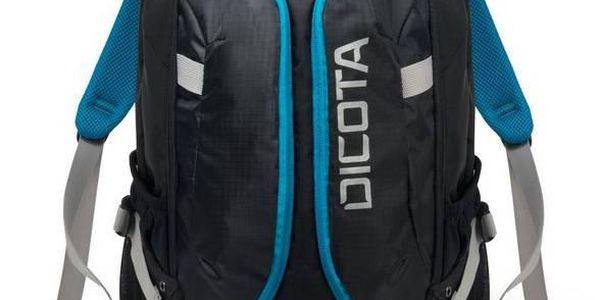 Batoh na notebook DICOTA Active 14-15,6'' (D31047) černý/modrý